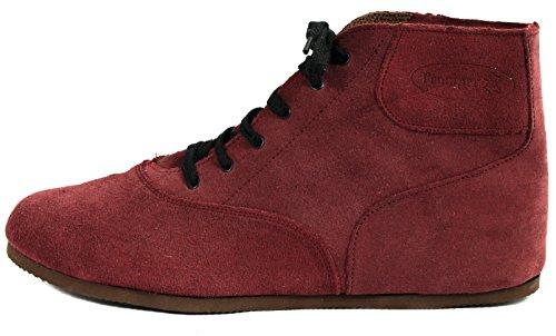 Original DDR Tramper Klettis Blueser Schuhe Brombeer