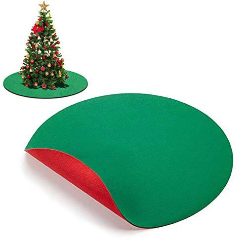 ABOAT Alfombrilla Reversible árbol Navidad 76 cm