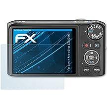 atFoliX Displayschutzfolie für Canon PowerShot SX240 HS Schutzfolie - 3 x FX-Clear kristallklare Folie