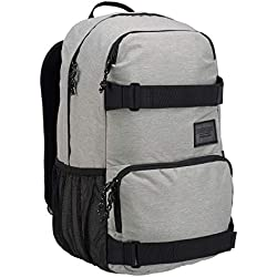 Burton Treble Yell Sac á Dos Mixte Adulte, Gray Heather, FR Unique (Taille Fabricant : NA)