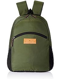 Tommy Hilfiger Polyester Olive Laptop Bag (TH/STPPL16LAPH)