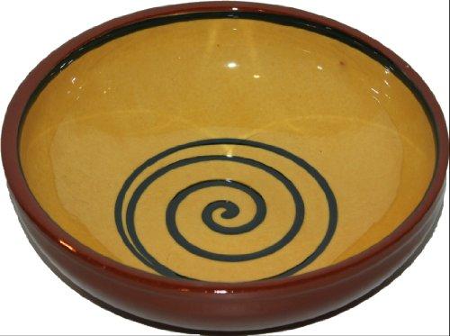 Amazing Cookware Bol Motif spirale Jaune/vert 20 cm