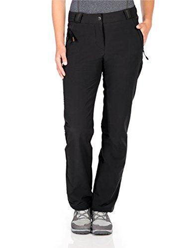 Jack Wolfskin Damen Activate Thermic Pants Women Softshell-Hose, Black, 92 Preisvergleich