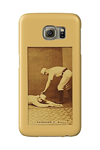 Boston Beaneaters - Old Hoss Radbourn - Baseball Card (Galaxy S6 Cell Phone Case, Slim Barely There) -