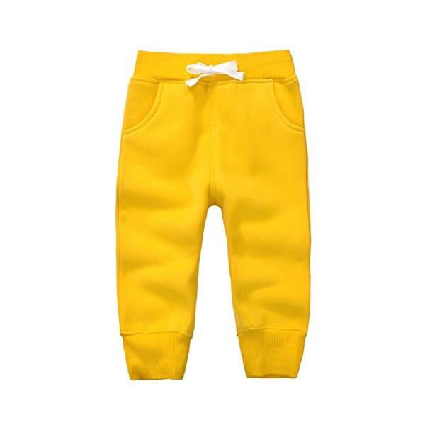 Casa Pantalones Deportivos para Bebés De Chándal Joggers , Pantalón Largos Elásticos de Bebé en Algodón , 1 - 5 Años 1