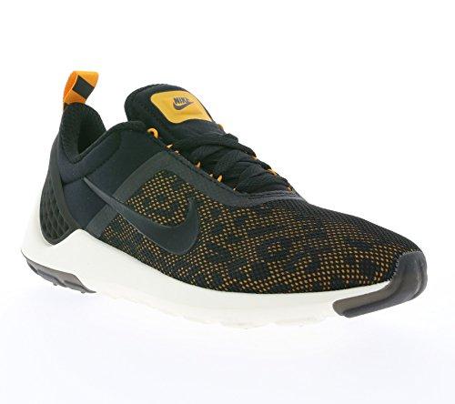 Nike Lunarestoa 2 Premium Qs, Chaussures de Running Entrainement Homme, Noir (Schwarz) Noir / jaune / blanc / gris (noir / blanc - kumquat - voile)