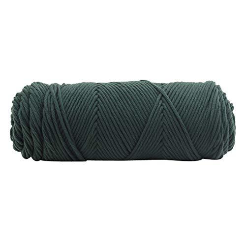 HKFV Kiting Wool Schal Stricken Wolle Garn Dicke warme Mütze Haushalt Hand Stricken Knicker Garn Häkeln Weich Schal (I)