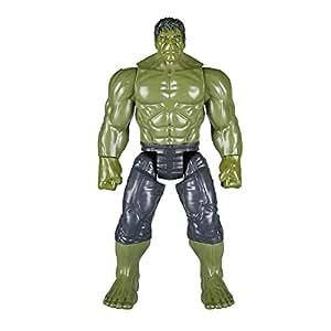 Hasbro Avengers E0571EU4 Marvel Titan Hero Power FX Hulk, Actionfigur, Mehrfarbig, Norme