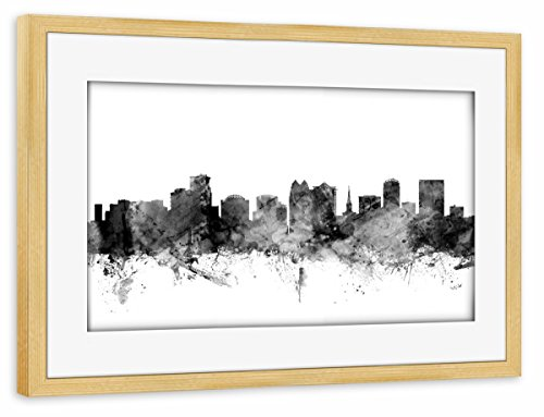 artboxONE Poster mit Rahmen Kiefer 75x50 cm Orlando Florida von Michael Tompsett - gerahmtes Poster
