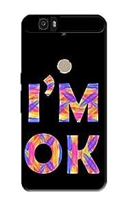 Nexus 6P Back Case KanvasCases Premium Designer 3D Lightweight Hard Cover