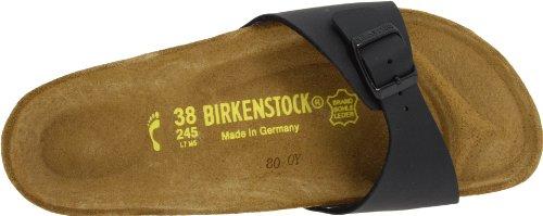 Birkenstock  Madrid Birko-Flor, Mules femme Noir