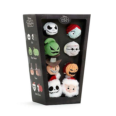 Ensemble de 8 mini Tsum Tsum L'Étrange Noël de Monsieur Jack