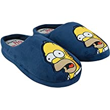 The Simpsons Homer Without Beer Men's Slippers