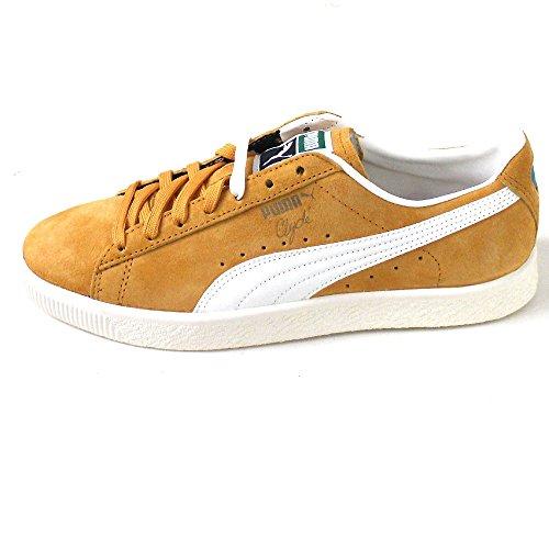 Puma Clyde Premium Core Gelb (artisans gold/whisper white)