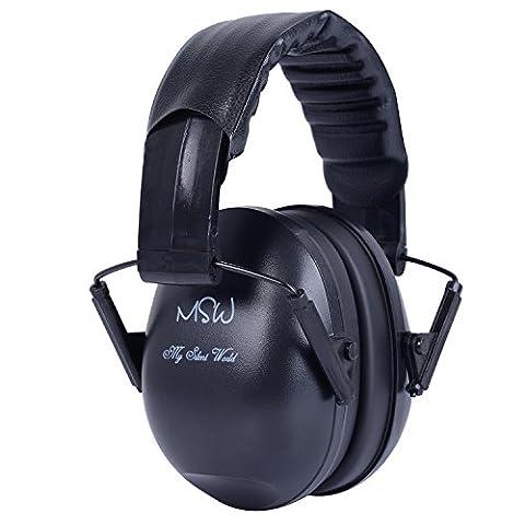 Cache-oreilles oreille Defender Casque réducteur de bruit 22db réglable pour les Construction de couchage chasse perçage sciage soudage Racing,