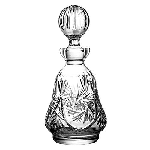 Crystaljulia 0085 Weinkaraffe, Bleikristall, Transparent