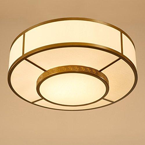 Preisvergleich Produktbild Chinesische antike runde Studie Schlafzimmer-Schlafzimmer-Gewebe-Deckenlampen (nicht tragen E27 Lichtquelle)