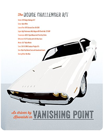 Fluchtpunkt San Francisco (Vanishing Point) - Limited Edition Steelbook [UK Import mit dt. Ton]