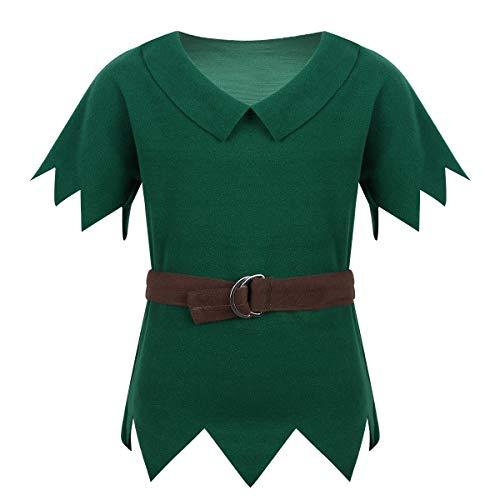 Jäger Kostüm Junge - YiZYiF Kinderkostüm Robin Set mit Mütze