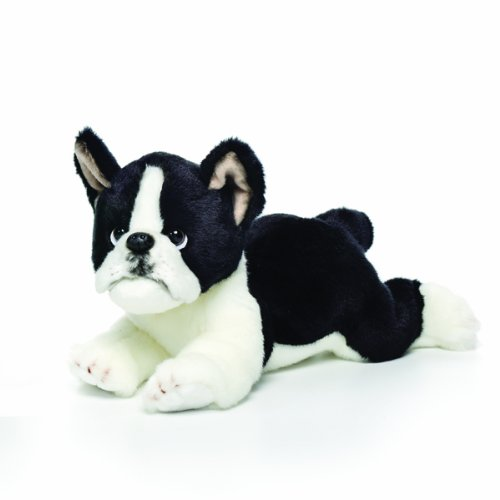 Nat and Jules Boston Terrier Plush Toy, Large by Nat and Jules -
