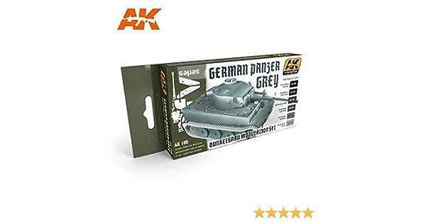 AK00160 AK Interactive Panzer Grey Modulation Set