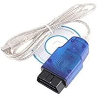 Shine @ scanner strumento diagnostico Vag-Com Kkl 409.1OBD2K-Line KWP2000ISO9141per VW/Audi
