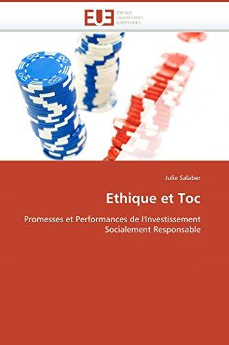Ethique et toc par Julie Salaber