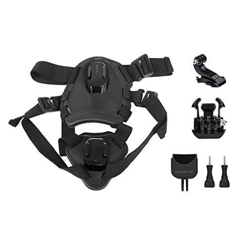 Upxiang Gimbal Camera Pet Dog Brustgurt Strap Holder Gürtel Größe für DJI OSMO Pocket Brustband Erweiterungs Zubehör Set-Adapter Zubehör Weiche-Bänder mit guter Elastizität (A)