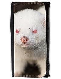 le portefeuille de grands luxe femmes avec beaucoup de compartiments // V00002853 hurón albino // Large Size Wallet