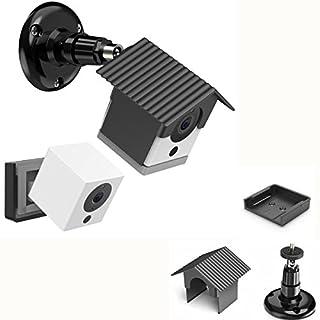 becrowmeu wyze Kamera Wandhalterung, Wetterfest, 360Grad Verstellbar Innen und Außenbereich Halterung Schutz Hülle für wyzecam 1080P Smart Spot Kamera Anti-Sun Schein UV-Schutz