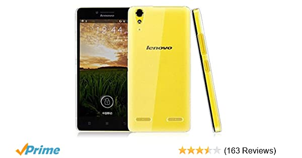 Generic For Lenovo A6000 Plus Exclusive Soft Transparent Back Cover Case Amazonin