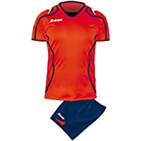 Zeus Herren Volleyball Set Trikot Hose Shirt Shorts Indoor Handball Training Ausbildung KIT VOLLEY UOMO FAUNO BLAU ROT