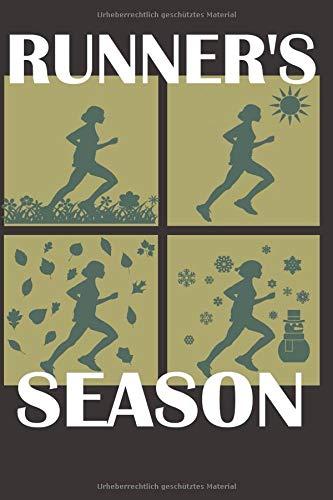 Runner's Season: Trainingstagebuch für Läufer I ca. A5