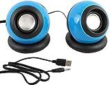#10: Terabyte USB Laptop/Desktop Tyre Type Multybyte Speaker, Red l Model - 008