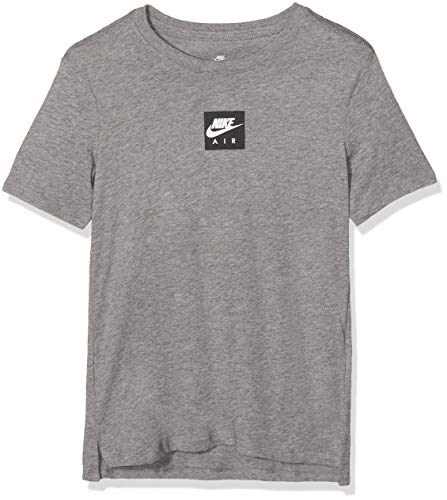 Nike Jungen Sportswear T-Shirt, Carbon Heather, L (147-158 cm)