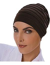 Yoga, Schwarz, Mütze, Haarturban, Headcover Chemo, Haarausfall, Baumwolle
