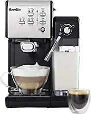 BREVILLE Coffee House One-Touch VCF107 Coffee Machine In Black & Ch
