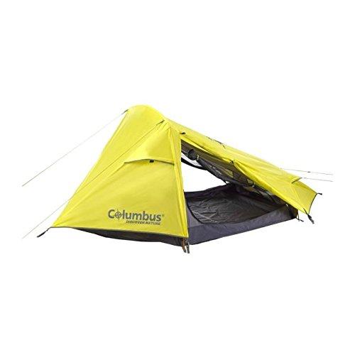 COLUMBUS Tajo Tente de Camping Mixte Adulte, Jaune, Unique