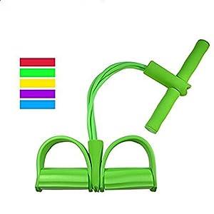 K-DD Widerstands-Band-Yoga-Sport-Ausrüstung für Bauch-Bauch-Taillen-Arm-Bein-Übung, elastisches Bodybuilding-Fitness-Abnehmen-Trainings-Übungs-Bänder, tragbare Hauptturnhalle Sit-ups Vorrichtung für den Unterleib / Taille / Arm / Le