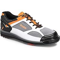 Dexter Mens The 9 HT LE Bowling Shoes - White/Black/Orange 11 M US