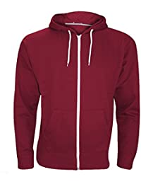 9fbf6e5a4c8 Elegant Vaps Mens Zipper Hoodie Long Sleeve Zip Up Sweatshirt Plus Size