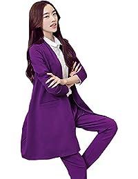 Damen hosenanzug violett