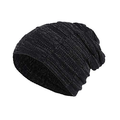 BURFLY Männer Frauen Baggy Warm Crochet Winter Wolle Strick Ski Beanie Schädel Slouchy Sport Caps Hut ()