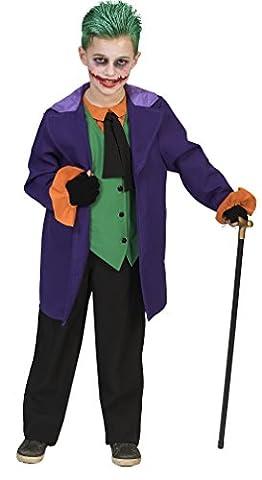 Halloweenia - Jungen Motto-Party Halloween Karneval Kostüm Joker, Horror Clown, 140, 10 Jahre, (Kinder Cat Halloween Kostüme)
