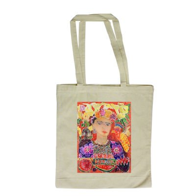 respects-to-frida-kahlo-2002-coloured-ink-long-handled-shopping-bag