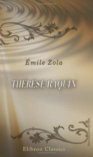 Th??r??se Raquin by ??mile Zola (2001-04-25)