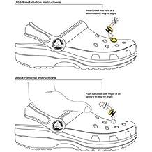 8 Zapatos Charms encantadores de zapatos para Croc Zapatos y pulsera Brazalete Bracelet Party Gifts #1