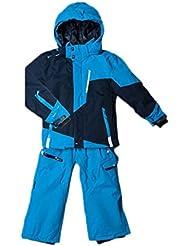Peak Mountain - conjunto de esquí Niño 10/16 años ECORO-azul/marina-14 años