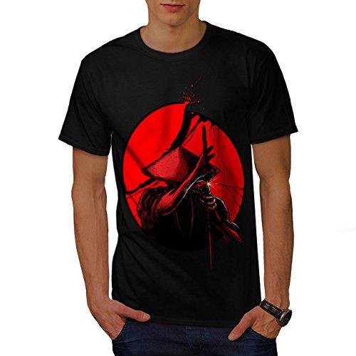 japanisch Krieger Samurai Sonne Herren S T-shirt | - Halloween Die Bürger Von