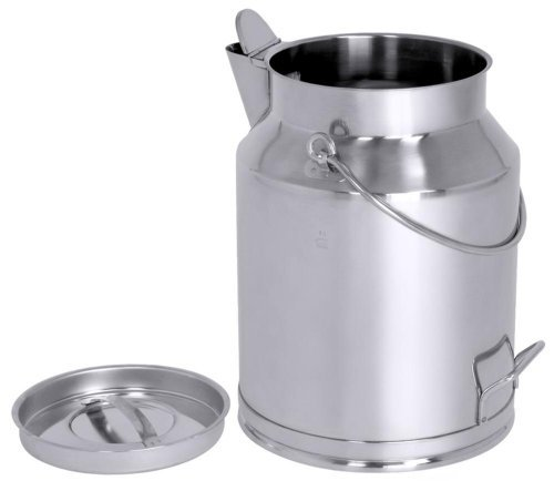 Contacto Stainless Steel Transport Canister 20l With Spout Naupe